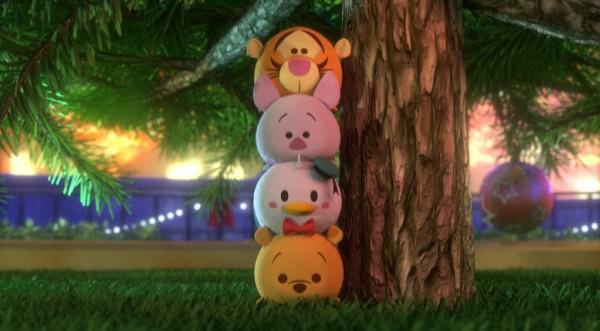 「ディズニー ツムツム」がアニメになった!クリスマス期間限定テレビ放送