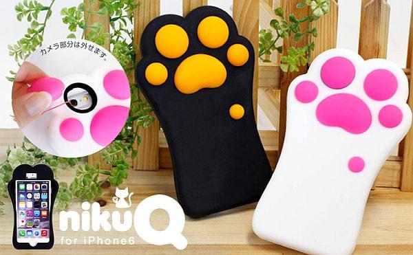 猫の手も借りたい師走に、「猫の手」デザイン iPhone 6 ケース
