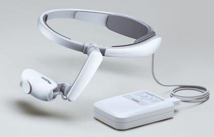ブラザー、業務用 HDM「AiRScouter」の新モデルは装着感が向上し映像が見やすく