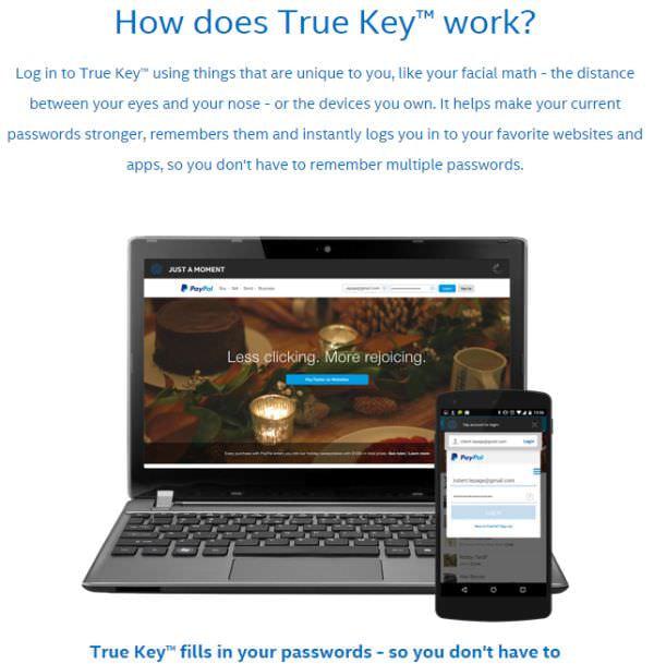 インテル CEO、CES で True Key のデモ、パスワードから解放される?