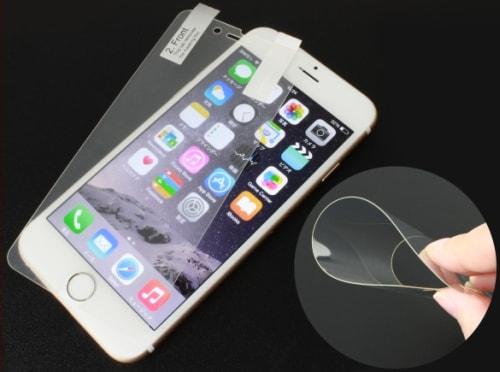 ガラスみたいなプラスチック製 iPhone 6/6 Plus 用の画面保護シート