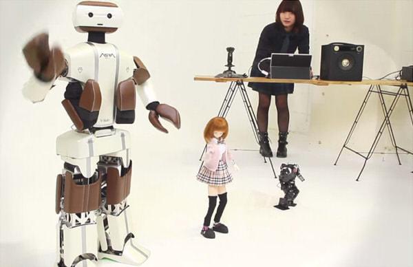 「V-Sido × Songle」システムで踊るロボットたち