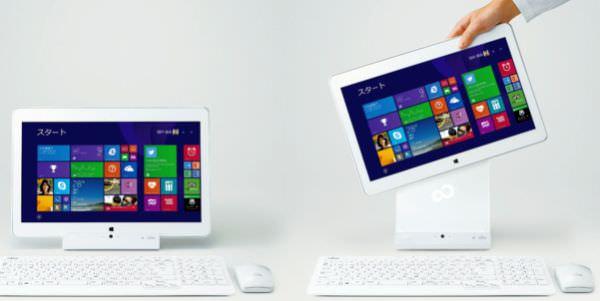 富士通、タブレットにも PC にもなる個人向け新製品 LIFEBOOK を発表