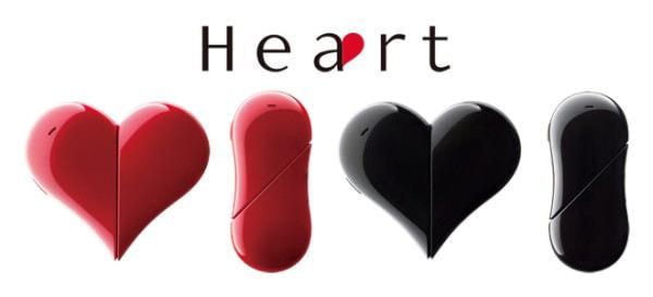 ワイモバイルからハート型 PHS「Heart 401AB」、バンダイは乙女心をくすぐる「セーラームーン」コラボセット