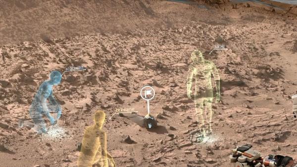 NASA と Microsoft、「HoloLens」で火星に降り立てる VR ソフト「OnSight」を共同開発