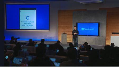 コルタナはシリのライバルか、Windows 10 に搭載されたパーソナルアシスタント