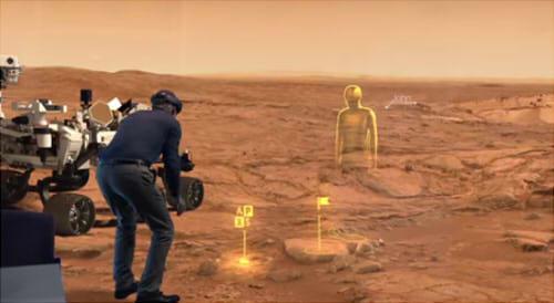 火星を探索できる「OnSight」にも対応