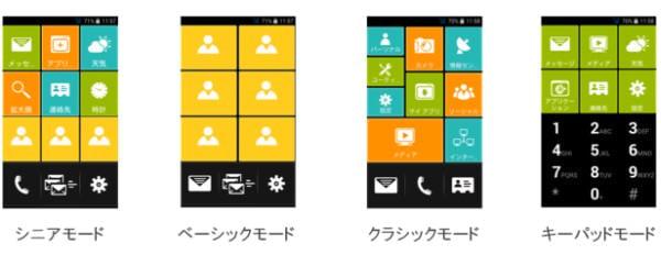 画面設定をユーザーに合わせて切り替えられる