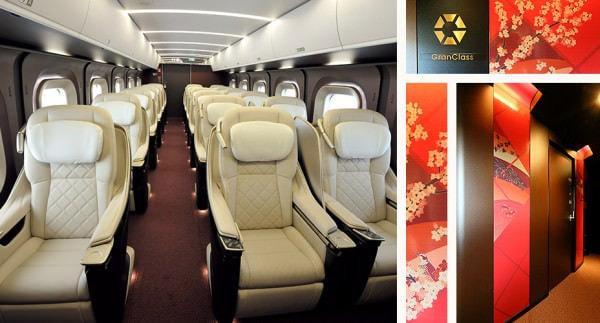 贅沢な空間のグランクラス (出典:JR 東日本)