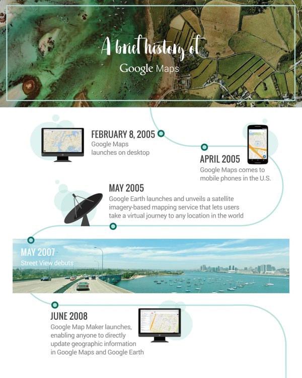 「Google マップ」が無かった時代を覚えてますか?サービス開始10周年!
