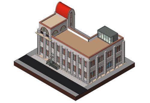 下関市が大正時代の建築物「田中絹代ぶんか館」を 3D モデル化