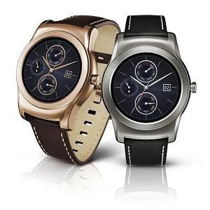 LG、金属ボディで高級感のあるスマートウォッチ「LG Watch Urbane」
