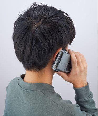 スマートフォンケースとして手になじむように考慮した
