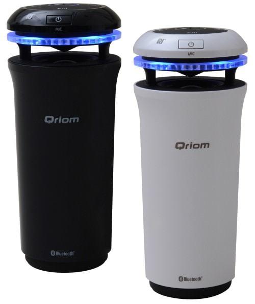 カップホルダーにピッタリ!NFC/Bluetooth 車載ワイヤレス スピーカー「Qriom YCS-100」