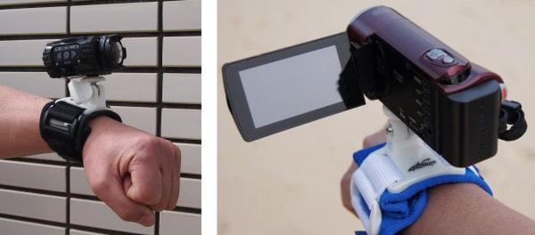 カメラ/ビデオカメラは直付け