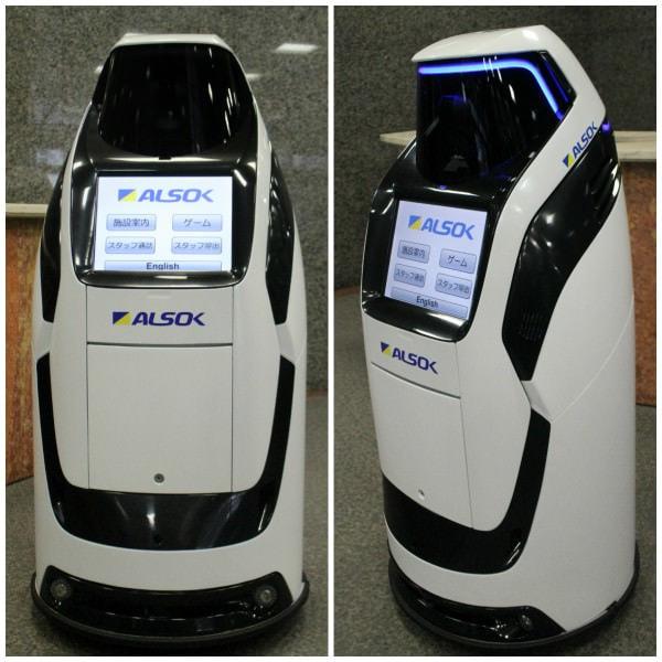 ALSOK が自律走行する警備支援ロボ「Reborg-X」発売、ロボコップや ED-209 はまだ遠い