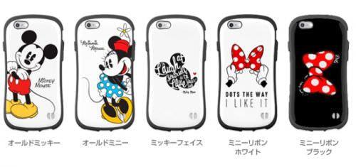 ミッキー/ミニーの iPhone ケース、丸みがあって持ちやすい
