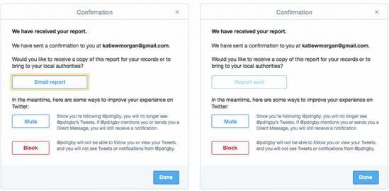 Twitter、脅しや嫌がらせを警察に簡単に通報できる新ツール