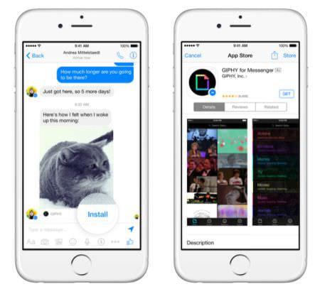 Facebook が開発者会議で Messenger プラットフォームを発表