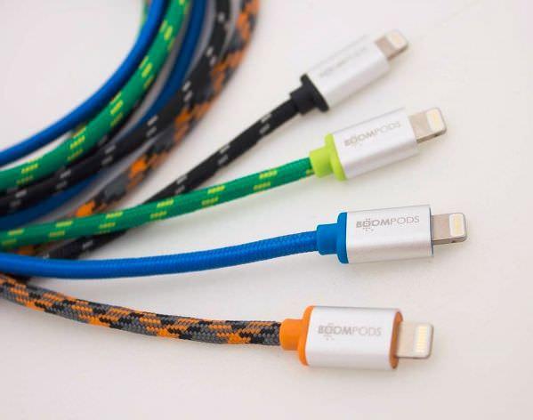 個性的なデザインの「retro cable」