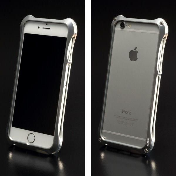 ジュラルミン塊から削り出した iPhone 6 用ケース「REAL EDGE C-5 for iPhone6」
