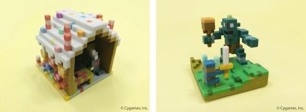 制作した 3D モデルの例