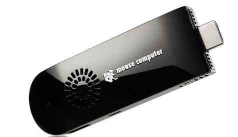 スティック型 PC が CPU 冷却用マイクロファンを内蔵