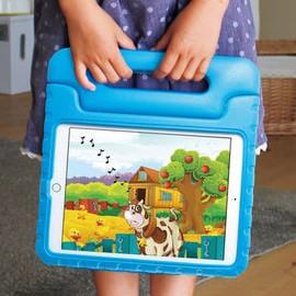 子ども/幼児に安心して「iPad Air 2」を使わせられる衝撃吸収ケース、知育/教育に活用を