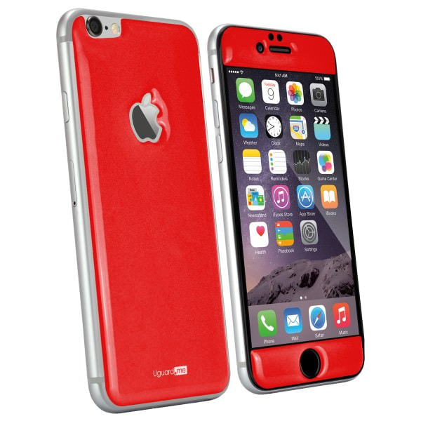 擦り傷を自己修復して消す特殊樹脂の iPhone 6 用スキンシール