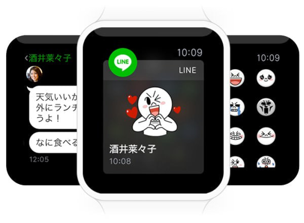 LINE 対応は Apple Watch 普及の起爆剤になるか?