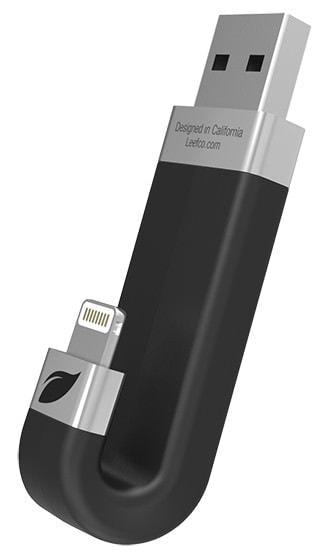 """J""字型 USB メモリーで iPhone/iPad の容量不足を解消"