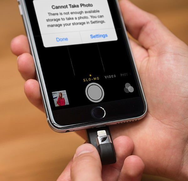 iPhone などのストレージ容量不足を解消