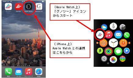 Apple Watch で「グノシー」を閲覧するには