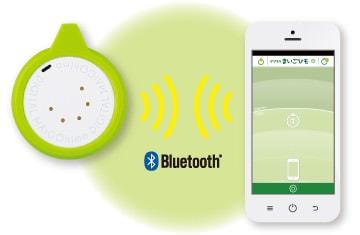 Bluetooth 連携で迷子にさせない (出典:キングジム)