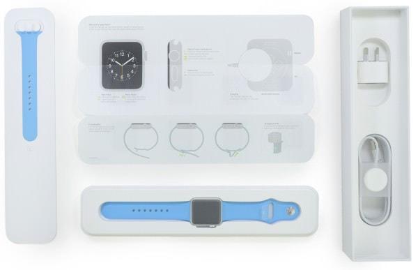 分解したのは Apple Watch Sport(38mm 版)