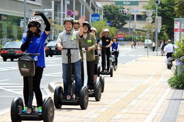 セグウェイが公道を走る「ロボットの街つくば」