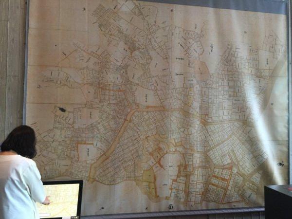 東洋文庫が所蔵している江戸大絵図