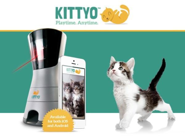 やはり Kickstarter で大人気だった「KITTYO」 (出典:Kittyo)