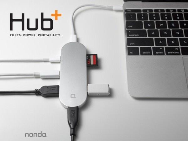 Hub+ for USB-C