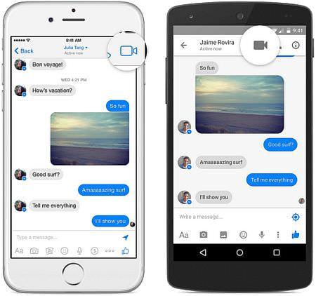 Skype キラーとなるか、Facebook Messenger アプリでビデオ通話ができる