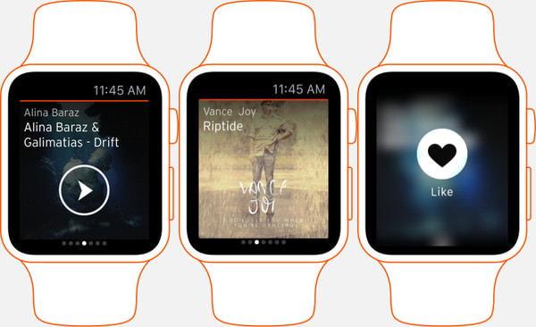 ネットの音楽を Apple Watch で次々再生--便利な「SoundCloud」アプリが公開