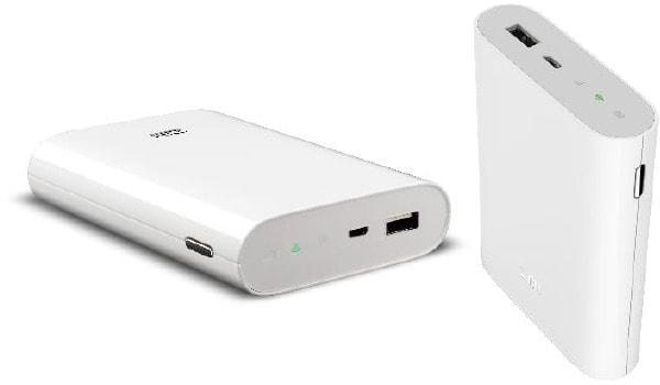充電もできるし、ネットも使える--大容量バッテリー兼モバイルルーター、ソフトバンクが開発中