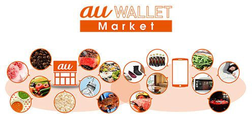 au ショップで高級食材や生活用品も販売する「au WALLET Market」、今夏オープン
