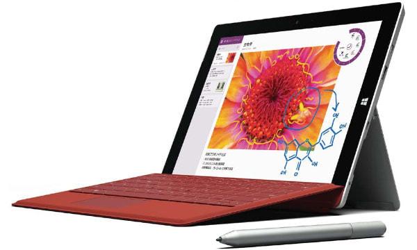 書類がいじれる・絵も描けるタブレット「Surface 3」、どこでもネットにつながる LTE モデルが登場
