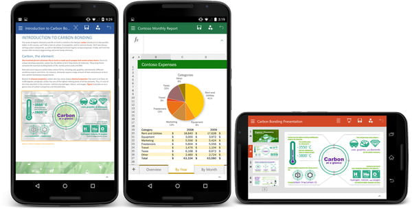 Excel や Word、スマホで手軽に編集・共有--「Office for Android Phone」お試し版が登場
