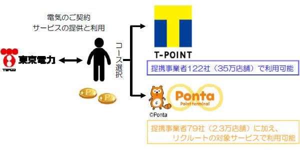 電気代を払うと T ポイントがたまる -- 東京電力が新サービス
