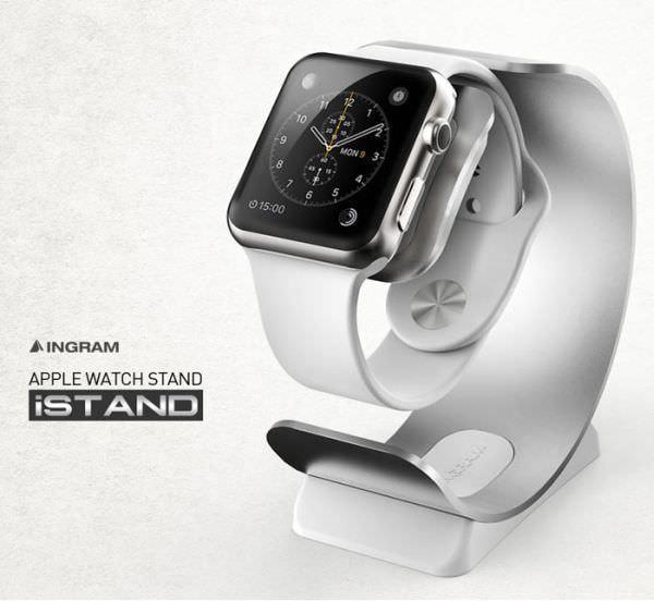 Apple Watch スタンド「iSTAND」とケース「iSHOCK」が発売