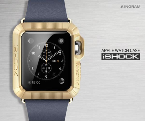 Apple Watch 用ケース「iSHOCK」