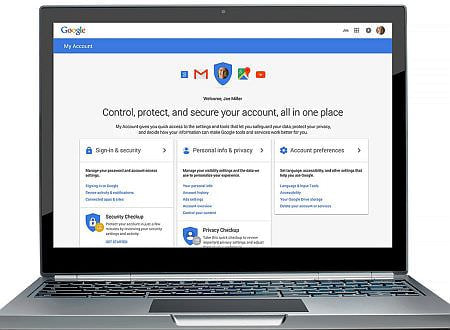 プライバシーとセキュリティは表裏一体、Google が設定用ハブ「My Account」を発表