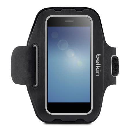 ベルキン Android 用アームバンド、スマートフォンを装着したままエクササイズできる